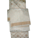 Cotton Banarasi Suit Material