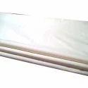 Plain White Sateen Cotton Fabric