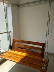 Teakwood Backrest Swing