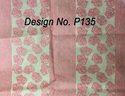 Non woven Metallic Printed Fabric P135