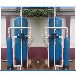 Semi-Automatic Borewell 500 L Industrial Water Plant