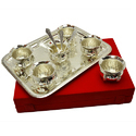 Traditional Silver Plated Handi Set