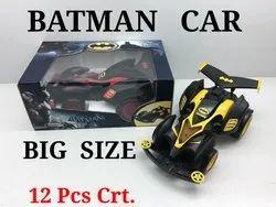 Plastic Batman Car Big
