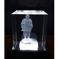 TRANSPARENT 3D LASER ENGRAVING