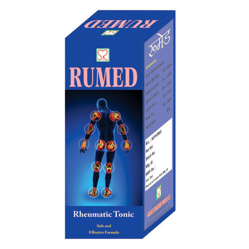 Homeopathic Rumed Syrup, Pack Size: 100ml 200ml 450ml