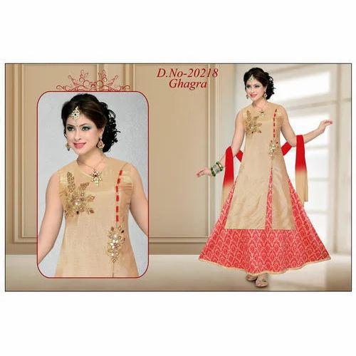6c82aadaca Wedding Wear Fancy Ghagra Dress, Rs 1095 /piece, M Rajeshkumar   ID ...