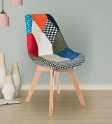 Multi Colour Patch Chair without Arms