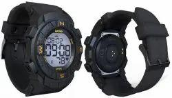 UNISEX Round Lenovo Ego Black Smartwatch HX07, for Daily