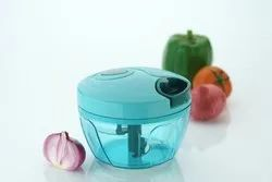 Manual Food Chopper, Compact & Powerful Hand Held Vegetable Chopper to Chop Fruits and Vegetables