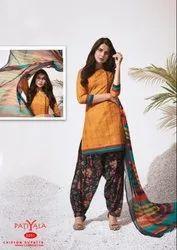 Anmol Tex Cotton Priyanshi Patiyala Dress Material