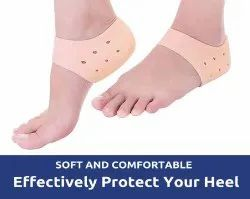 Silicone Gel Heel Socks for Dry Hard Cracked Heel Repair Pad, Swelling & Pain Relief, Cushion Suppor