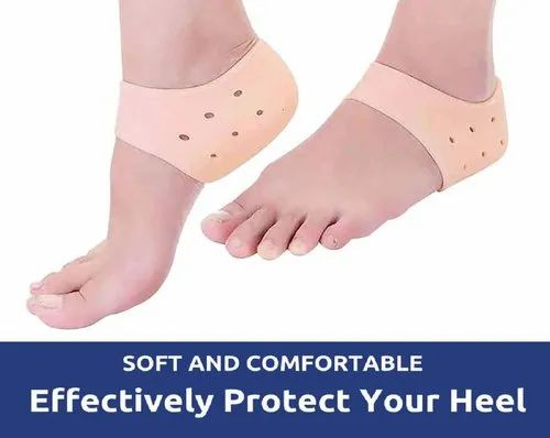 8351b86a0d Silicone Gel Heel Socks for Dry Hard Cracked Heel Repair Pad, Swelling & Pain  Relief, Cushion Suppor at Rs 89 /piece | Gel Heel Cushion | ID: 20657065648