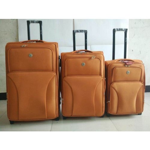 Polyester Plain Passenger Luggage Travel Trolley Bag 953b19eda3859