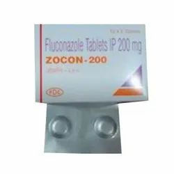 FLUCONAZOLE 200 MG ZOCON TABLET