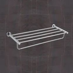Stainless Steel Ss304 Double Layer Towel Rack