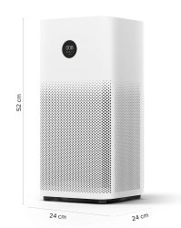 ABS Plastic White Mi Air Purifier 2S for Home