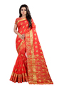 Fancy Cotton Silk Saree With Blouse Piece