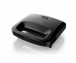Philips HD2394 820-Watt Panini Maker (Black) for Home