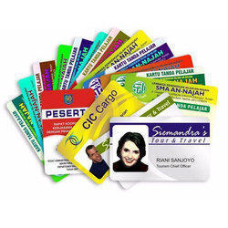 Double Sided Rectangular Laser ID Card