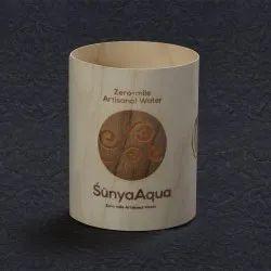 Curved Wooden Cylinder