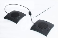 Black ClearOne Chat Attach 150 For Audio Conference