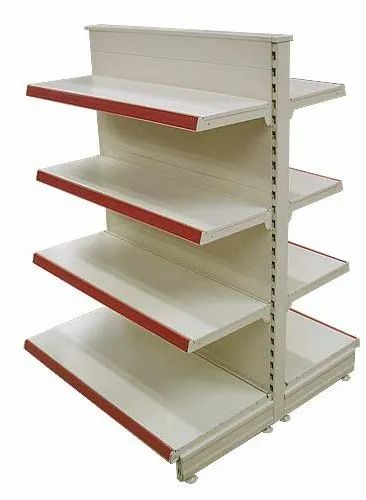 MS Movable Unit Display Rack, Warranty: 1 Year, For Super Market