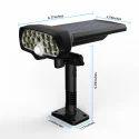 17 LED Solar Fence Light