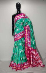 Specially Designed Ikkat Silk Sarees