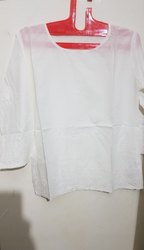 Black N White Regular Cotton Casual Top