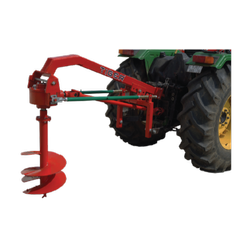 Tractor P.t.o Mild Steel PH01 Regular Post Hole Digger, For Agriculture & Farming