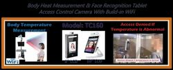 Body Temperature & Face Detection Access Control Tablet Camera With WiFi Interface