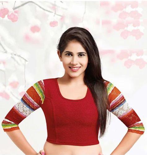 Desi Girl Stretchable Blouse No 48