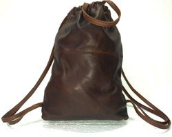 Trendy Leather Rucksack Backpack