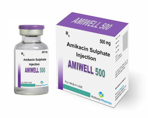 Amikacin Sulphate Injection, for Hospital, Packaging Type: Vial, Rs 15 /box  | ID: 14719881730
