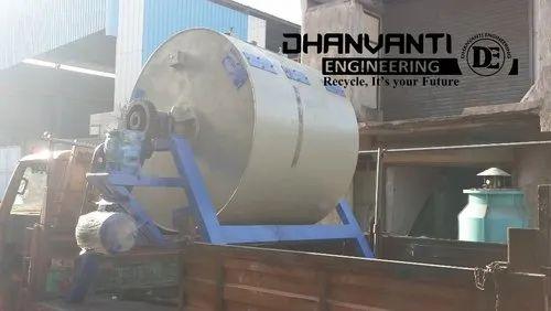Batch Mild Steel Aluminium Dross Ball Mill, Capacity: 2500kg, for Industrial
