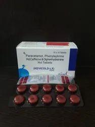 Paracetamol Phenylephrine HCL Caffeine Diphenhydramine
