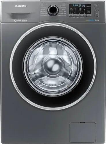 Samsung 8 kg Fully Automatic Front Load Washing Machine, WW80J5410GX/TL, Inox Grey