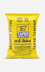 Tapee 43 Grade Ordinary Portland Cement, Packaging Size: 50 Kg