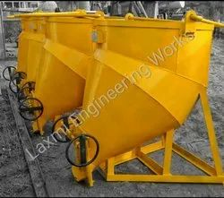 Gear Operated Banana Concrete Bucket