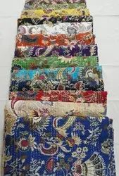 Hand Made Kantha Quilt Bed Cover