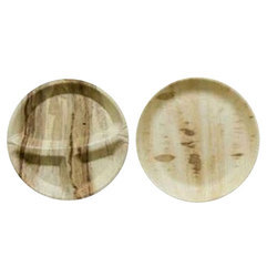 7 Inch Round Areca Leaf Plate