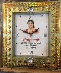 Decorative Square Promotional Clock