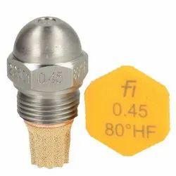 Fluidics Burner Nozzle 80 Drgree HF