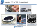 Poly Fluoro 1.5mm-5mm Expanded Ptfe (eptfe) Tape, For Industrial And Domestic Use