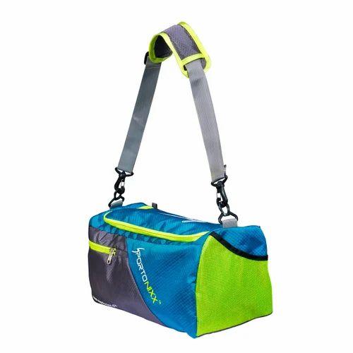 Sportonixx Sky Blue And Green Rogue Gym Bag 1241c504d