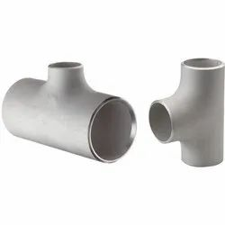 Stainless Steel Welding Butt Weld Equal & Unequal Tee, for Structure Pipe