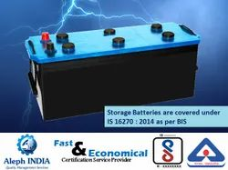BIS Registration for Storage Battery