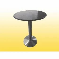 Silver Stainless Steel Round Table for Restaurant Hotel
