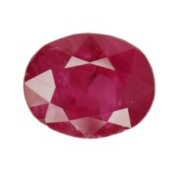 Red Burma Ruby Gemstone