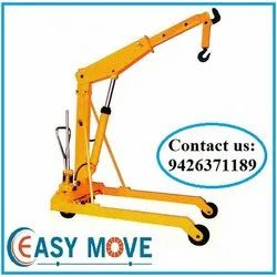 Easy Move Mini Crane Hydraulic Floor Crane, EM 125, 0-5 ton